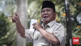 BPN Bantah Prabowo Tersangka Kasus Dugaan Makar