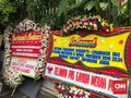 Rumah Prabowo Dibanjiri Karangan Bunga Selamat Menang Pilpres