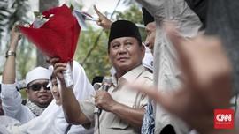 Prabowo Hadiri Syukuran di TMII, Wartawan Dilarang Meliput