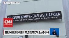 VIDEO: Berakhir Pekan di Museum KAA Bandung