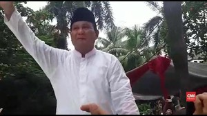 VIDEO: Takbir dan Pekik 'Presiden Kita' Pendukung Prabowo