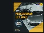 Wow, Bea Cukai Lelang 28 Mobil 'New' Subaru Rp 100 Jutaan