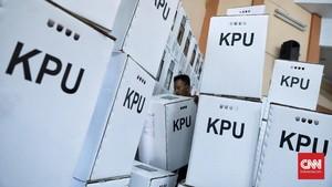 KPU Beri Santunan ke Keluarga Petugas KPPS yang Meninggal