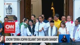 VIDEO: Jokowi Klaim Terima Ucapan Selamat Dari Negara Sahabat