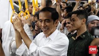 Usai Kunjungi Grand Indonesia, Jokowi Pulang Naik MRT