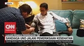 VIDEO: Drop, Sandi Jalani Pemeriksaan Kesehatan