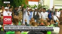 VIDEO: TKN & BPN Yakin Dengan Quick Count Internal