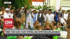 VIDEO: TKN & BPN Yakin Dengan Quick Count Internal