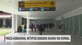 VIDEO: Pascakebakaran, Bandara Ngurah Rai Kembali Normal