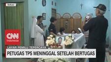 VIDEO: Ketua KPPS TPS Bekasi Meninggal Dunia Setelah Bertugas