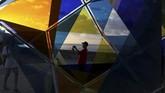 Havana Biennial merupakan pesta seni terpenting di Havana, yang pemerintahannya sangat mempromosikan seni sejak revolusi tahun 1959. (REUTERS/Fernando Medina)