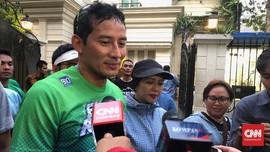 Sembuh Cegukan, Sandi Kembali Konsolidasi dengan Relawan