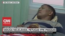 VIDEO: Diduga Kelelahan, Petugas PPK Pingsan