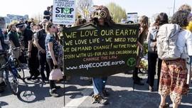 Kuasai Mal di Paris, Aktivis Iklim Ribut dengan Polisi