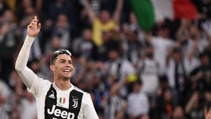 Ronaldo Cetak Sejarah Usai Juventus Juara Liga Italia
