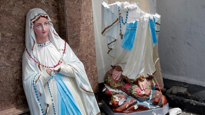 Diserang Bom, Ini Kondisi Gereja & Hotel di Sri Lanka
