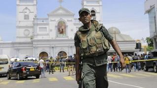 Aparat Sri Lanka Temukan Bom di Dekat Bandara Kolombo