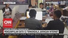 VIDEO: Pengumpulan Data C1 Terkendala Jaringan Internet