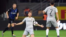 Hasil Liga Italia: Imbang Lawan Inter, Roma Gagal Salip Milan