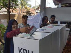 Prabowo Unggul di TPS Kota Serang yang Coblos Ulang Hari Ini