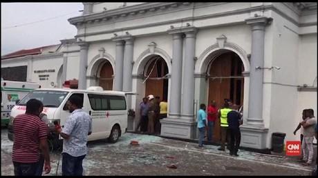 VIDEO: Korban Ledakan Gereja Sri Lanka Bertambah, 52 Tewas
