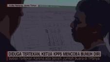 VIDEO: Ketua KPPS Coba Bunuh Diri