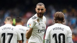 Hasil Liga Spanyol: Madrid Menang Berkat Hattrick Benzema