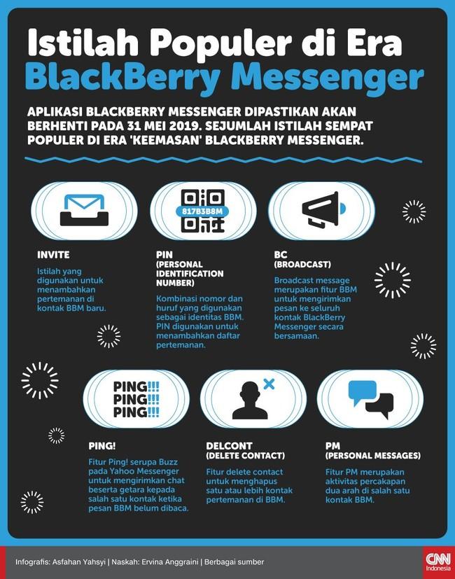 INFOGRAFIS: Istilah Populer di Era BlackBerry Messenger
