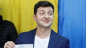 Exit Poll: Pelawak Volodymyr Zelenskiy Menang Pilpres Ukraina