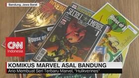 VIDEO: Berkenalan Dengan Komikus Marvel Asal Bandung