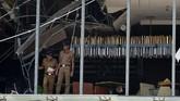 Presiden Sri Lanka Maithripala Sirisena mengaku terkejut oleh ledakan tersebut. Sirisena juga meminta warganya agar tetap tenang dan tetap di rumah. (ISHARA S. KODIKARA / AFP)