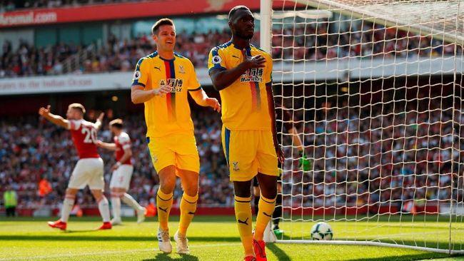 Hasil Liga Inggris: Arsenal Dipermalukan Crystal Palace 2-3