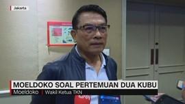 VIDEO: Moeldoko Soal Pertemuan Dua Kubu Jokowi-Prabowo