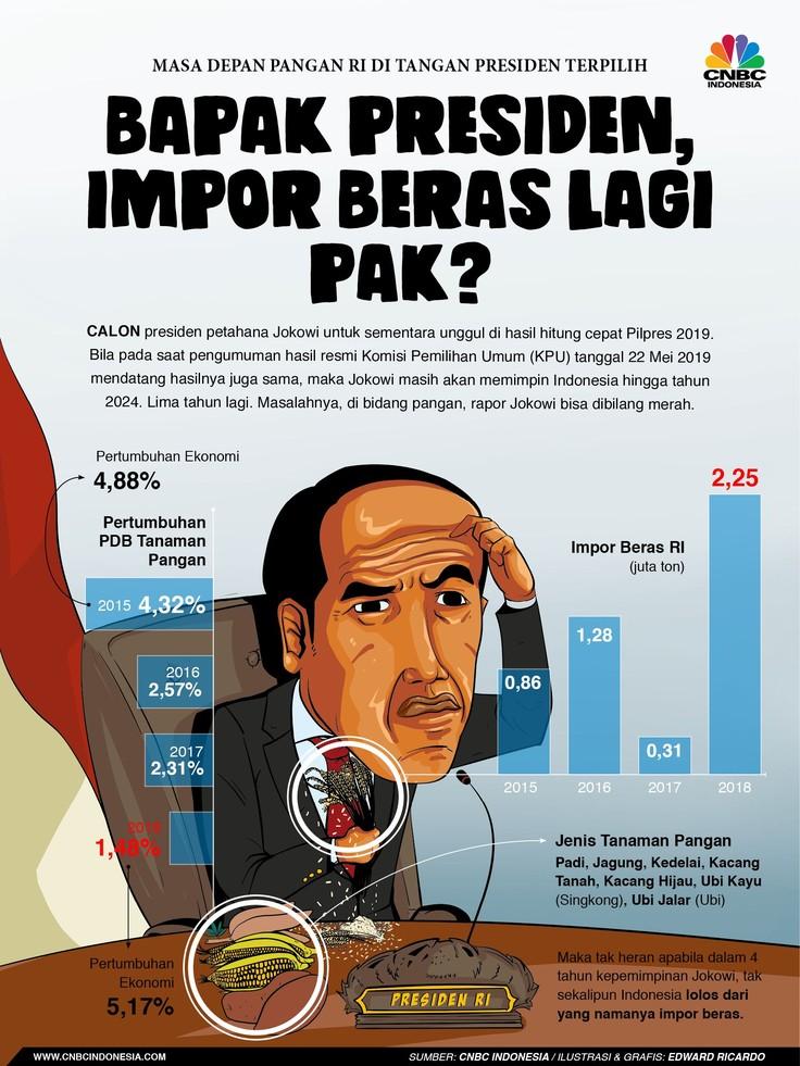 Bapak Presiden, Impor Beras Lagi Pak?