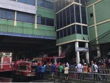 Kondisi Terkini Kebakaran di Pasar Tanah Abang Blok C