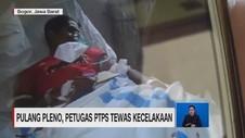 VIDEO: Pulang Pleno, Petugas PTPS Tewas Kecelakaan