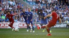 Salah Disebut Keki, Milner Eksekusi Penalti Liverpool