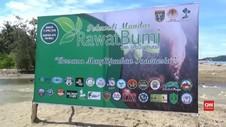VIDEO: Rayakan Hari Bumi, Ribuan Bibit Pohon Ditanam