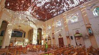 Korban Tewas Bom Paskah Sri Lanka Melonjak Jadi 290 Jiwa