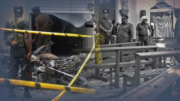 Bom Guncang Sri Lanka