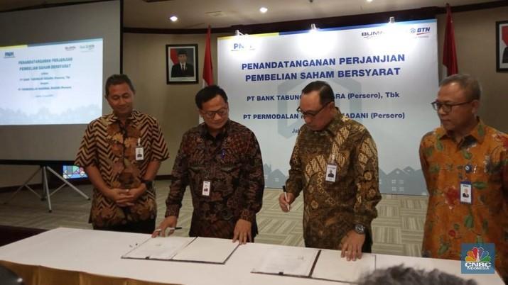 BTN akuisisi 30% saham anak usaha PT Permodalan Nasional Madani (PNM), yakni PT Permodalan Nasional Madani Investment Management (PNM IM).