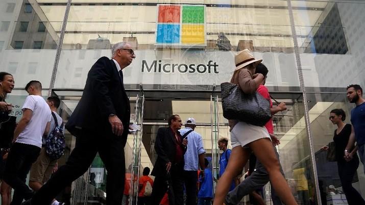 10 Perusahaan AS Timbun Kas Ribuan Triliun, Microsoft Nomor 1