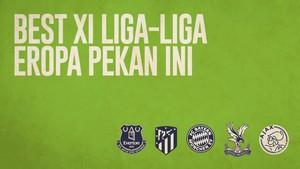 INFOGRAFIS: Best XI Liga-liga Eropa Pekan Ini