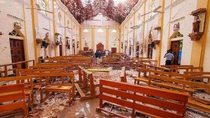 Kondisi Terkini Sri Lanka Usai Serangan Bom di Hotel & Gereja
