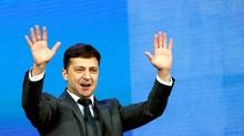 Pelawak Ukraina Sebut Hari Pertama Jadi Presiden Mengejutkan