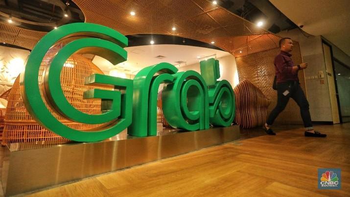 Grab (CNBC Indonesia/ Andrean Kristianto)