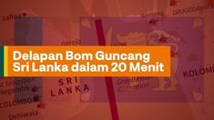 INFOGRAFIS: Delapan Bom Guncang Sri Lanka dalam 20 Menit