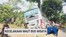VIDEO: Kecelakaan Maut Bus Wisata