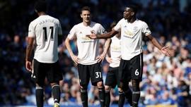 Ruang Ganti Manchester United Memanas Usai Dibantai Everton
