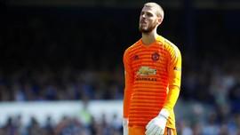David De Gea Minta Maaf Usai MU Dibobol Everton Empat Gol